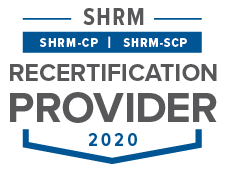 SHRM Recertification Provider CP-SCP Seal 2020-cropped